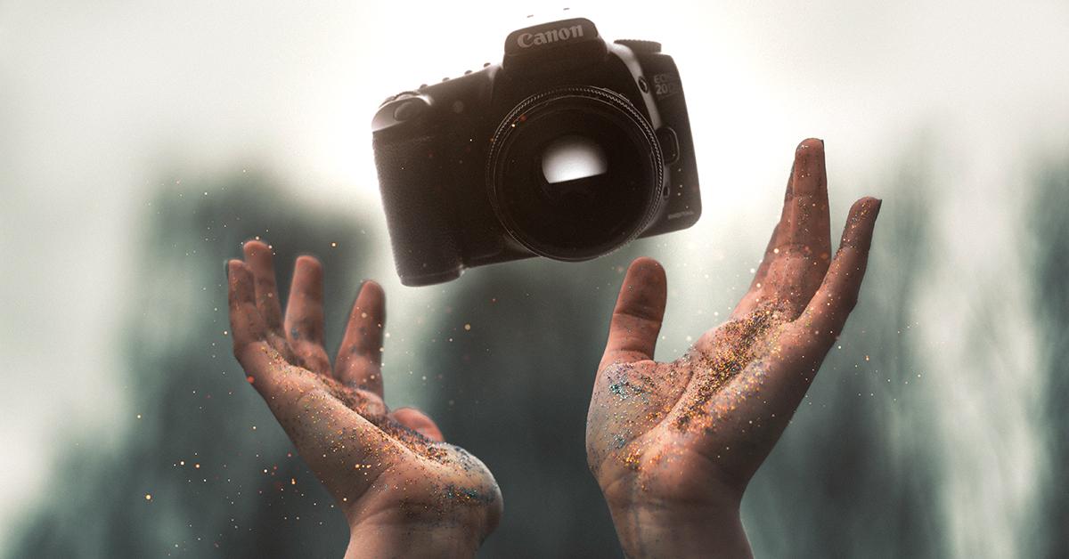 Camera lens condensation