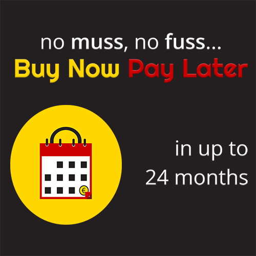 Buy now pay later – Monthly repayment scheme