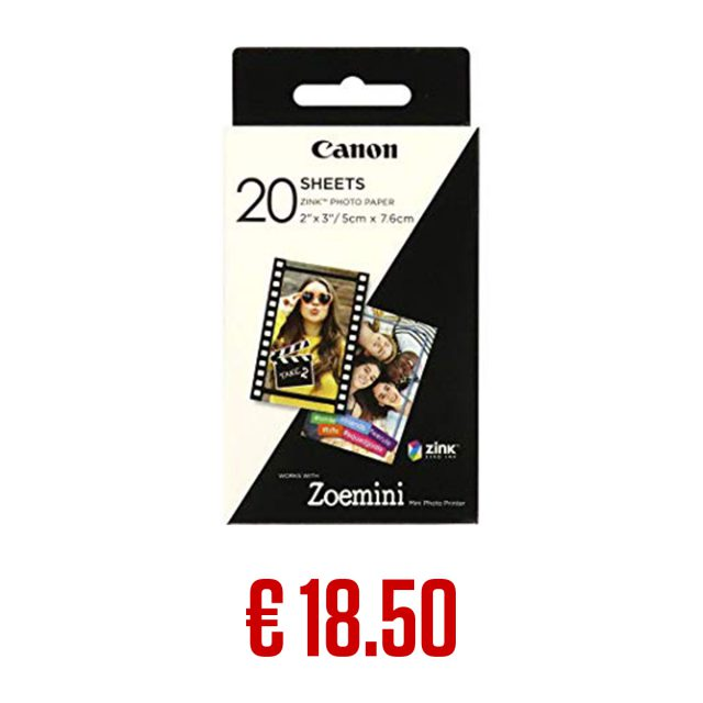 Canon Zoemini Paper_20 Shts_Buy Now image