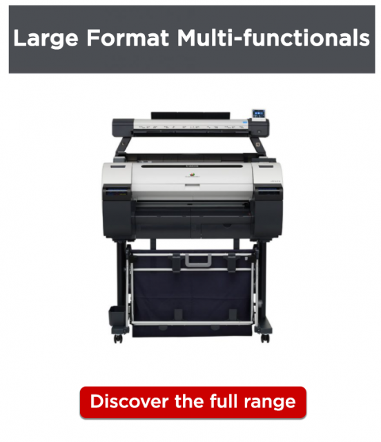 Canon CAD/GIS Printers_Multi-Function_Discover More linked image