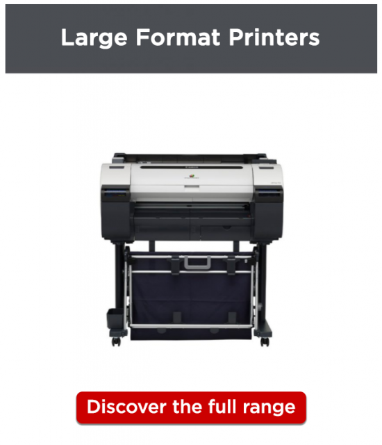 Canon CAD/GIS Printers_Single Function_Discover More linked image