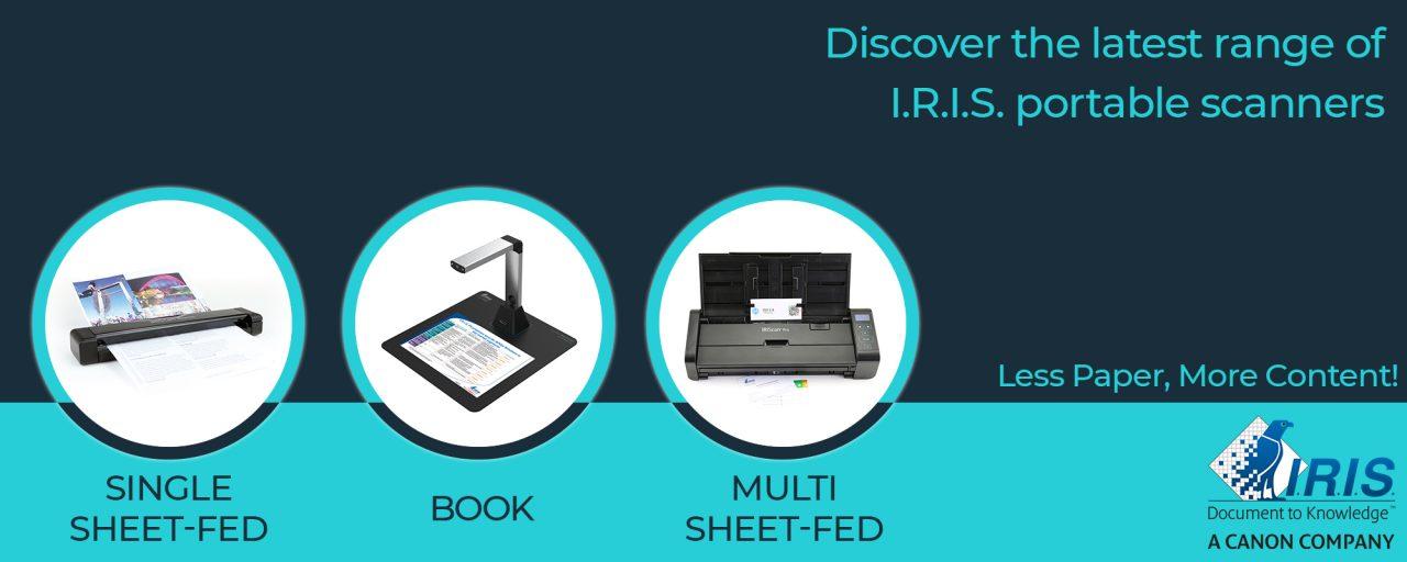 Iris portable scanners
