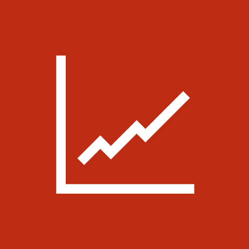 Solutions to Increase Productivity_graph icon