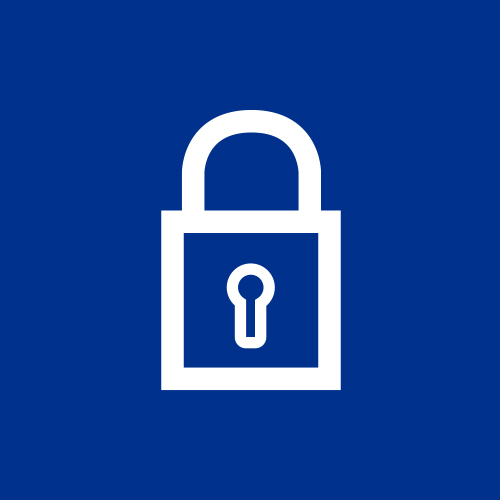 Solutions to enhance security_lock icon