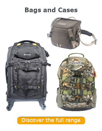 Vanguard Bags and Cases_Dicover More banner