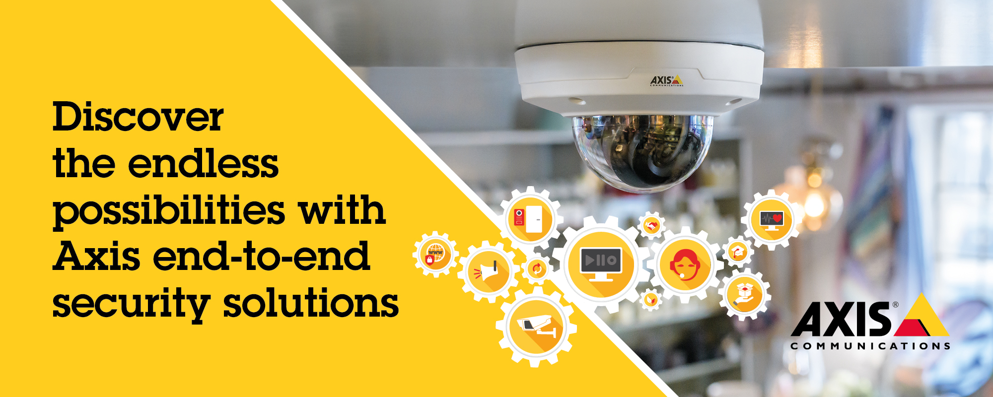 Axis CCTV end-to-end Surveillance Solutions
