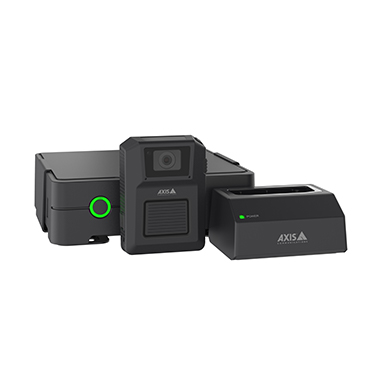 Axis body worn camera solutions