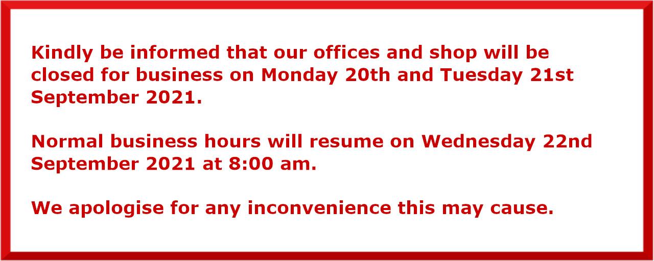 Company notice